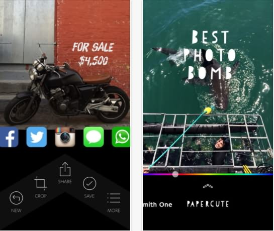 add text bubble to photo app