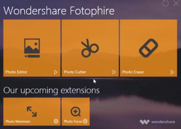 Add Background to Photos - Start Fotophire