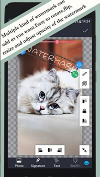 Add Watermark to Photos - Use Android App to Watermark Image
