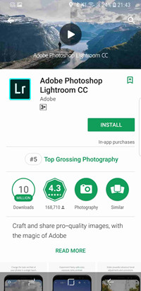 Apps to Fix Blurry Pictures - Adobe Photoshop Lightroom