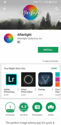 Apps to Fix Blurry Pictures - Afterlight