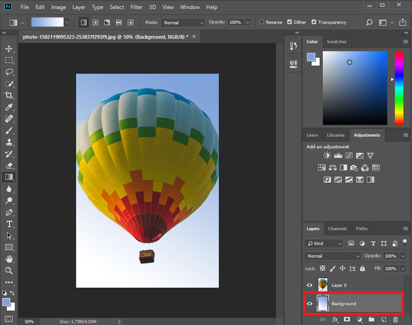 Changer Photo Background in Photoshop - Change Background in Photoshop