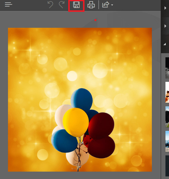 Changer Photo Background in Photoshop - Save Changes