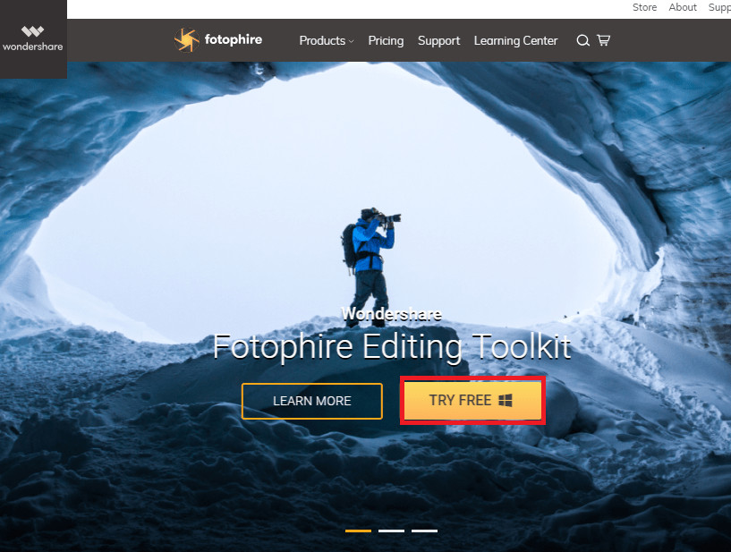 Change Photo Effects and Background Online - Start Fotophire Editing Toolkit