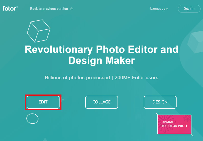 Change Photo Effects and Background Online - Visit Online Photo Editor