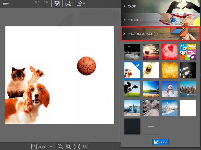 Change Background of Images - PHOTOMONTAGE