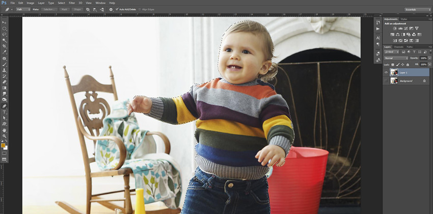 How to Create Blurred Photo Background - Adjust the Strength of Blurry Effect