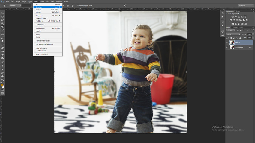 How to Create Blurred Photo Background - Compare Before and After Effects