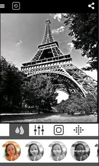 Edit Black and White Photos - BlackCam - Black&White Camera