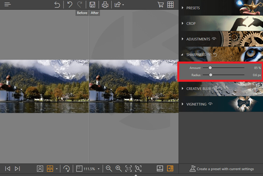 How to Fix Grainy or Fuzzy Photos - Sharpness