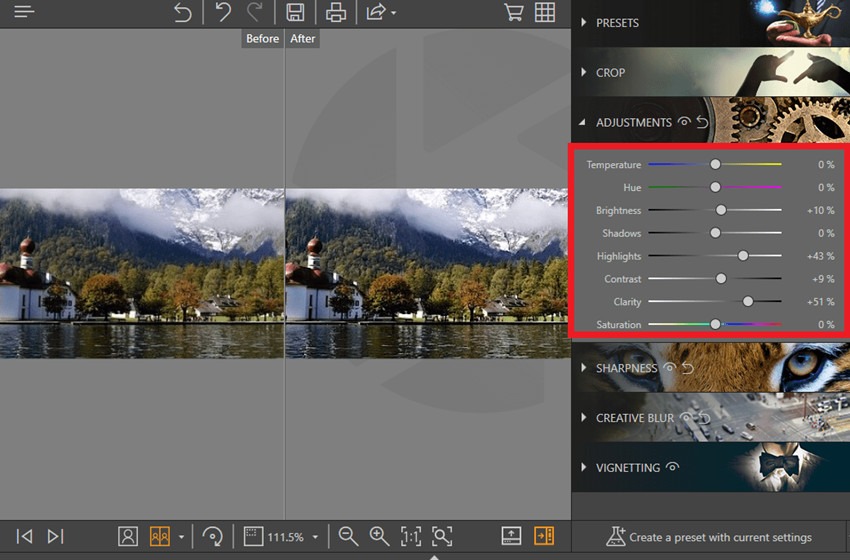 How to Fix Grainy or Fuzzy Photos - Adjustment