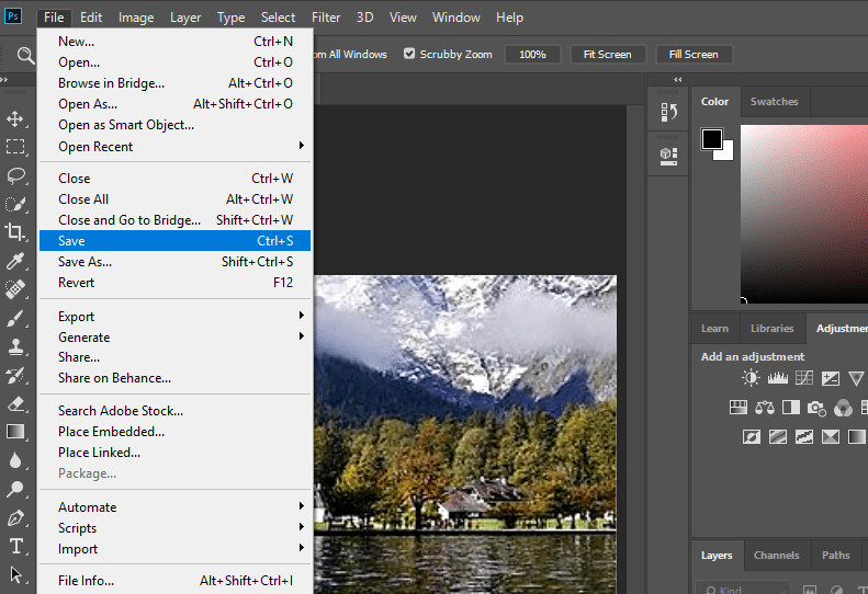 How to Fix Grainy or Fuzzy Photos - Save Changes