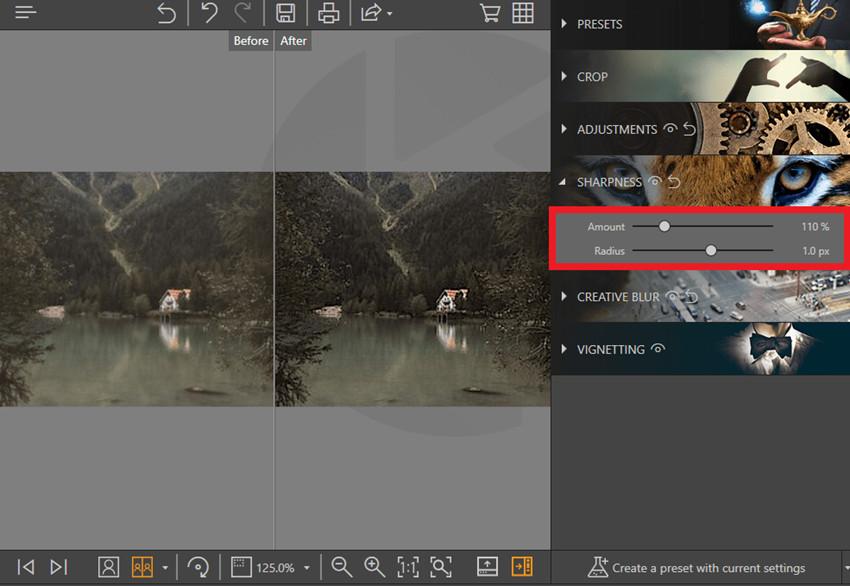 How to Fix Out-of-Focus Photos - Amount & Radius
