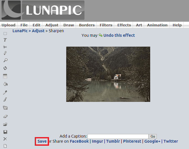 How to Fix Out-of-Focus Photos - Save Image