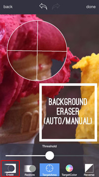 Make Photo Background Transparent - Manually Start Removing Background
