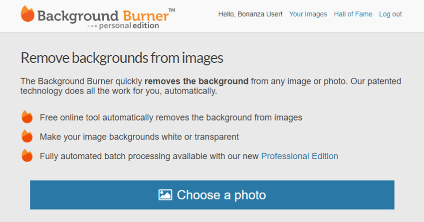 Use Online Photo Editor to Change Background Color to White - Background Burner