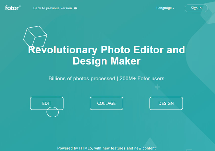Use Online Photo Editor to Change Background Color to White - Launch Fotor Online Editor