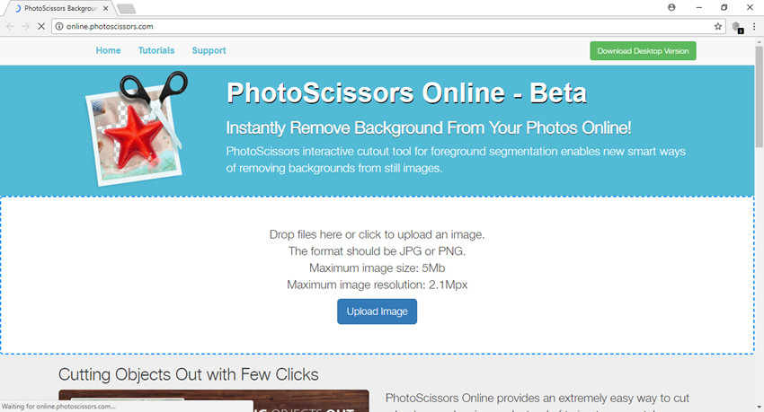 Remove Background from Image - Photoscissors