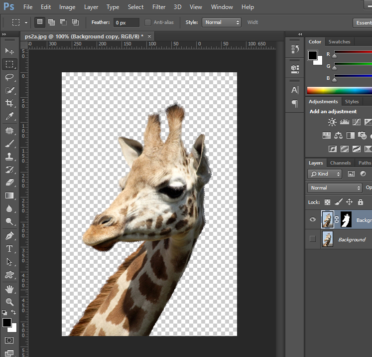 Remove Background from Image - Output Settings