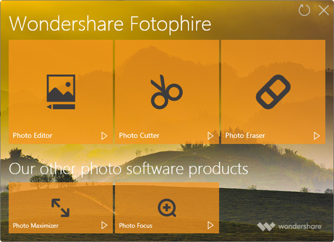Helpful Methods to Remove Blur from Image - Install and Start Fotophire Focus