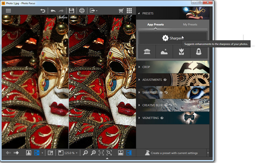 Helpful Methods to Remove Blur from Image - Sharpen Image with 1 Click Sharpen