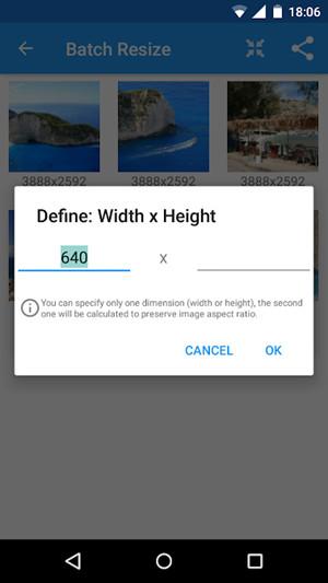 Resize JPG - Android JPG Resizing App