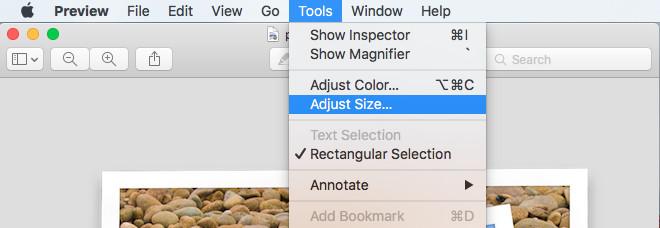 Resize JPG - Adjust Size