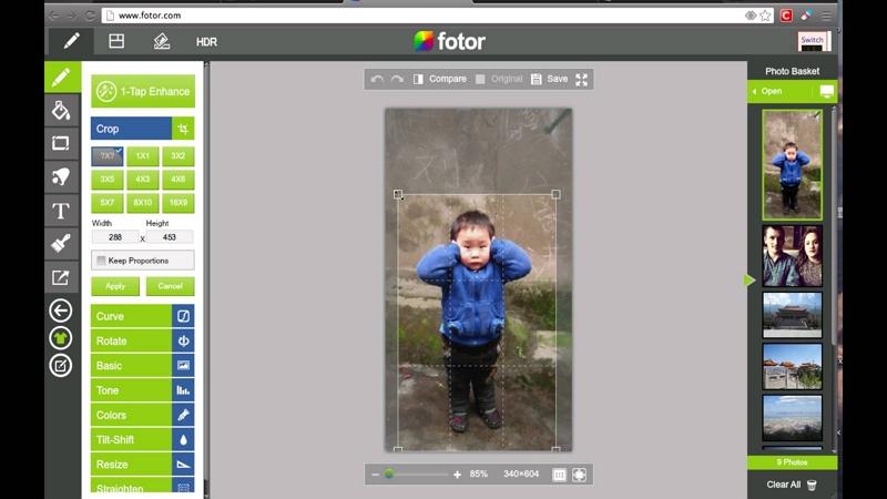 How to Edit Photos on PC - Fotor