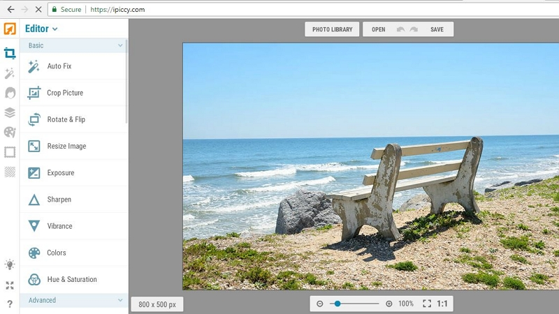 How to Edit Photos on PC - IPiccy