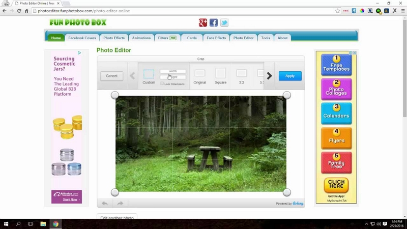 How to Edit Photos on PC - Fun Photo Box
