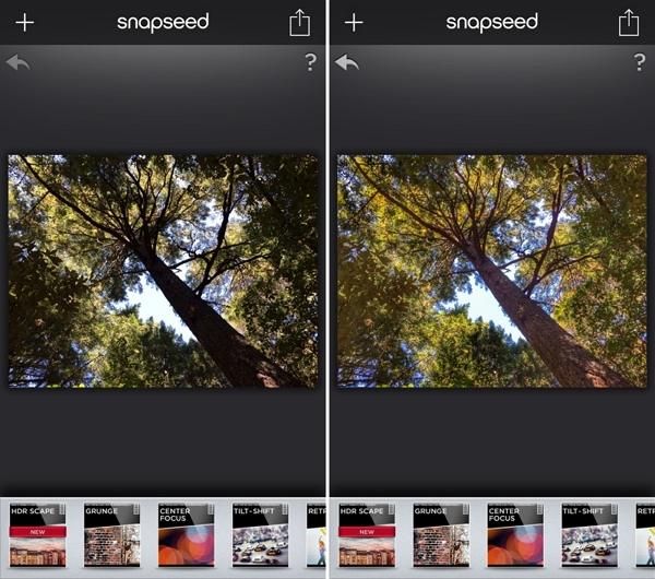 Android Raw Photo Editor - Snap seed