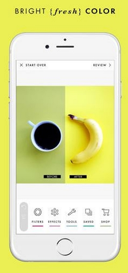 Photoshop App for iPhone - A Color Story