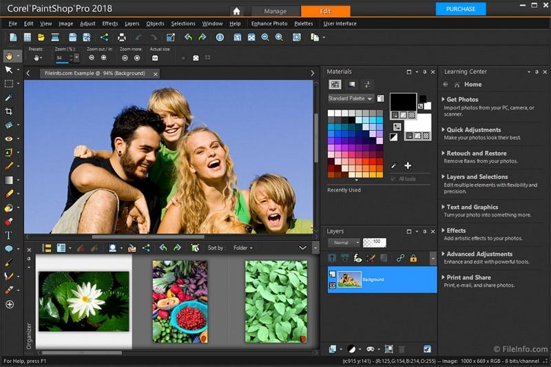 Picasa Photo Editor for Windows 7 - Corel Paint Shop Pro