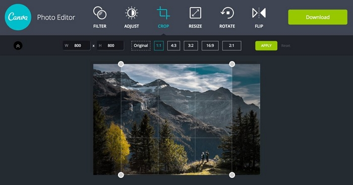 Camera Editing - Canva