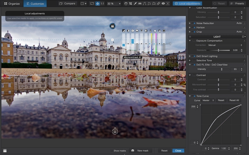 Photo Editor for PC - DXO Photo Lab