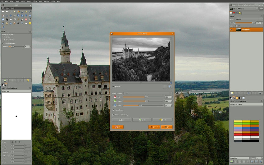 Photo Editor for PC - GIMP