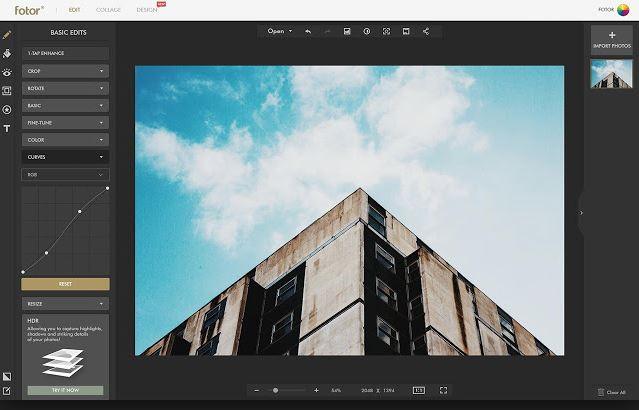 Photo Editor for PC - Fotor