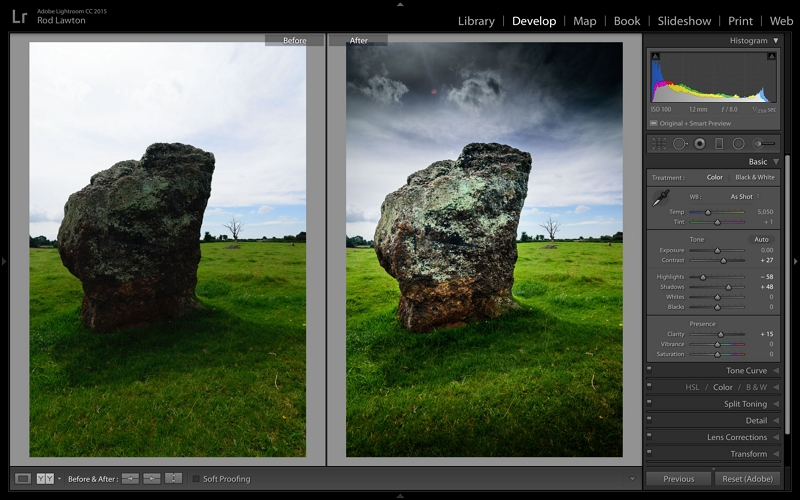 Dslr Photo Editing Software - Lightroom