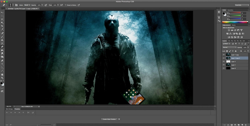 Dslr Photo Editing Software - Photoshop