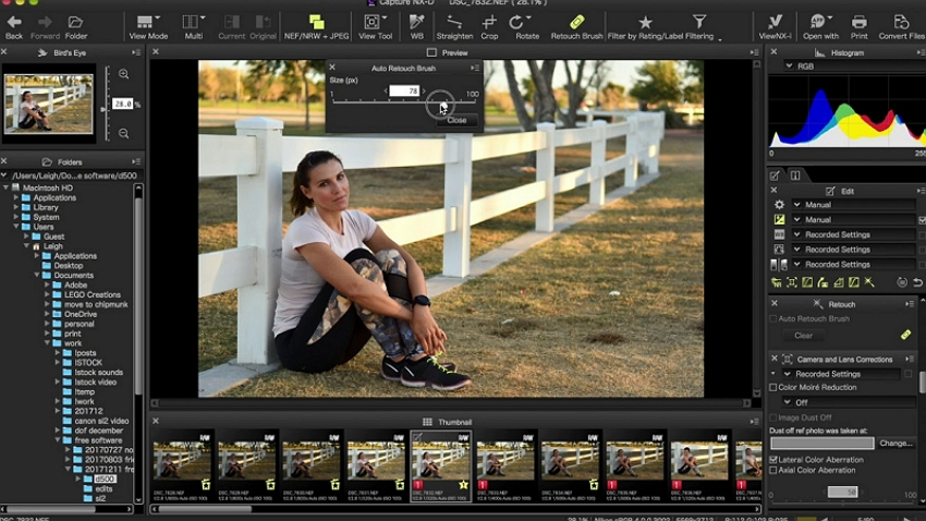 Dslr Photo Editing Software - Nikon Photo Software – Capture NX2