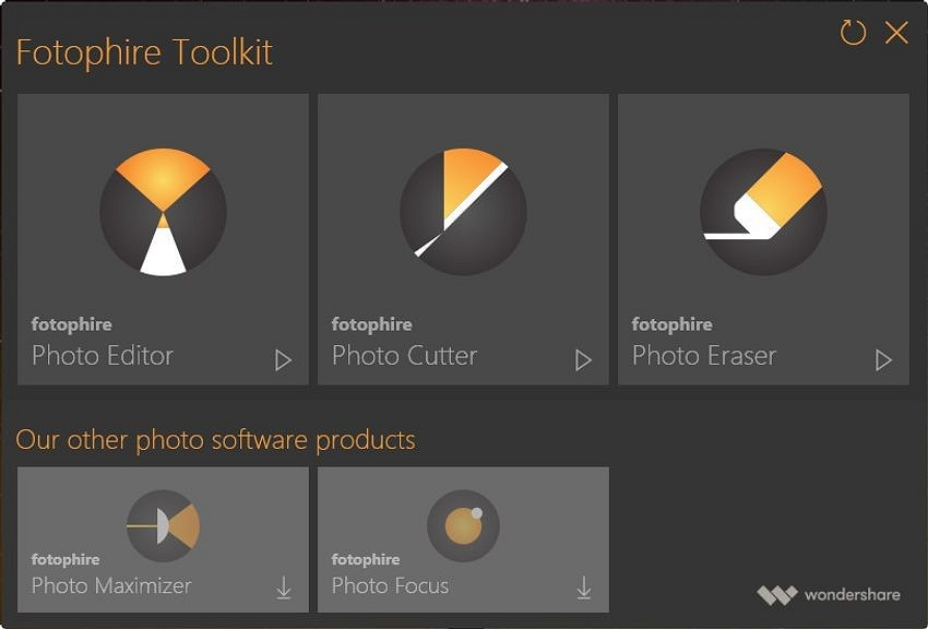 Windows 10 Photo Editor - Download the Fotophire Editing Toolkit
