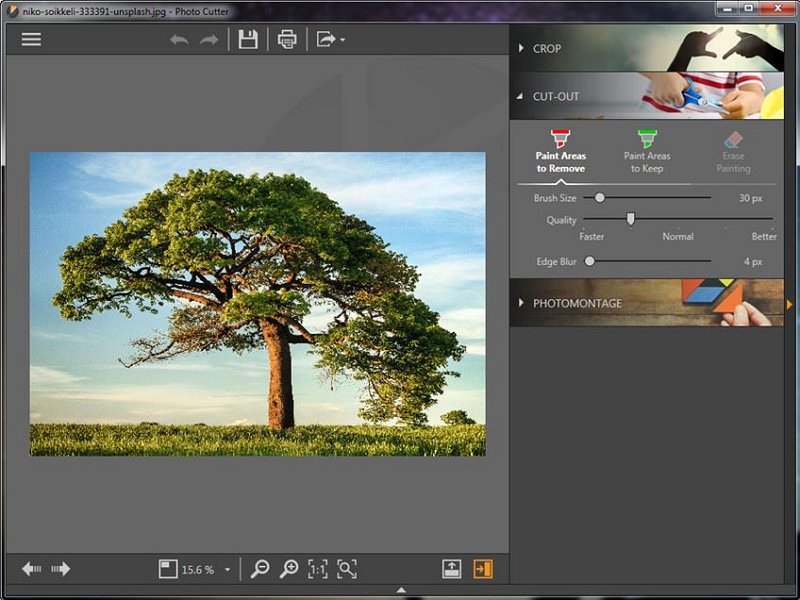 How to Use Cut Paste Photo Editor for PC