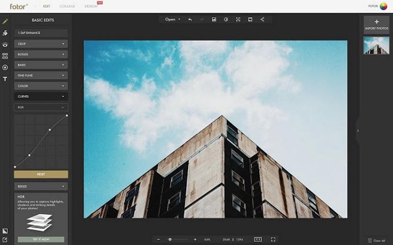 Macbook Photo Editor - Fotor