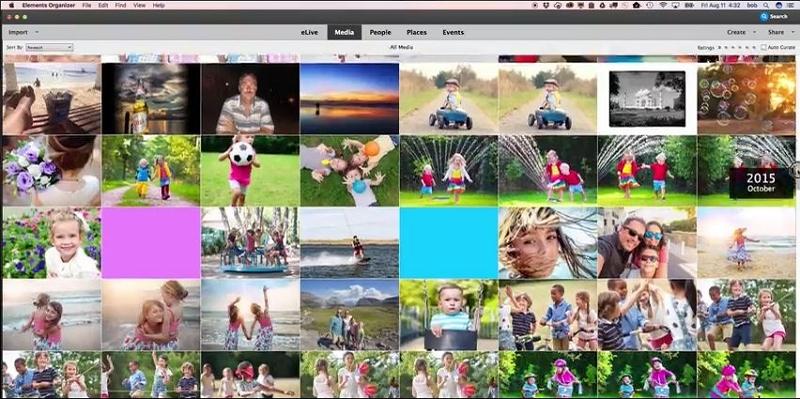 Mac Photo Editor - Adobe Photoshop Elements