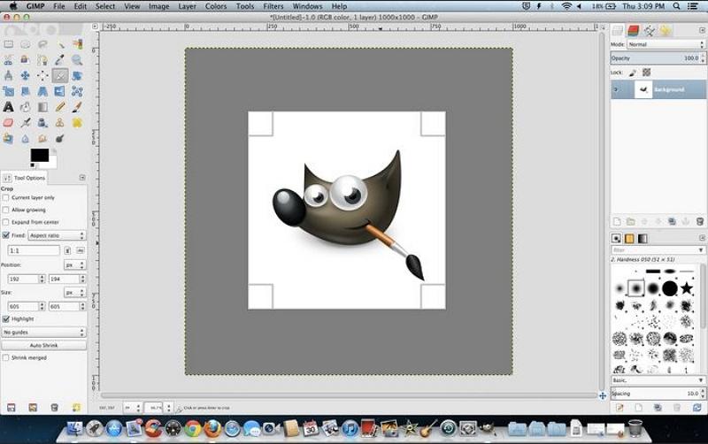 Mac Photo Editor - GIMP