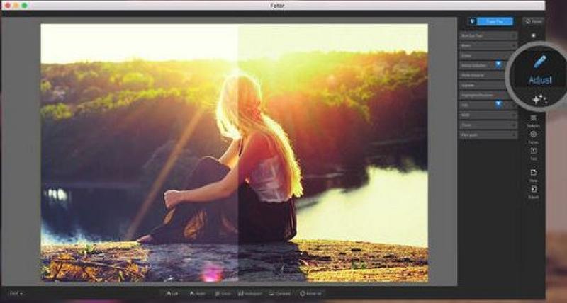 Mac Photo Editor - Fotor Photo Editor