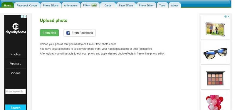 Mac Photo Editor - FunPhotoBox