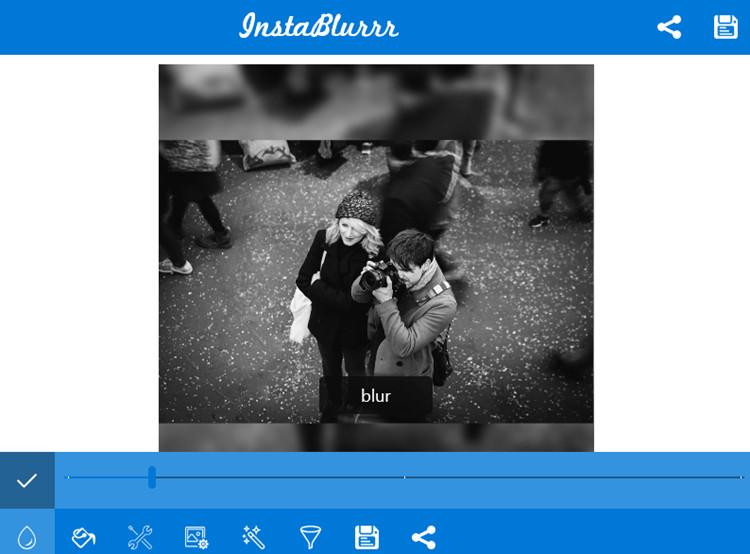 BLur Frame Photo Editor - InstaBlurr