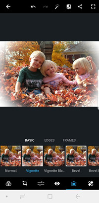 BLur Frame Photo Editor - Adobe Photoshop Express