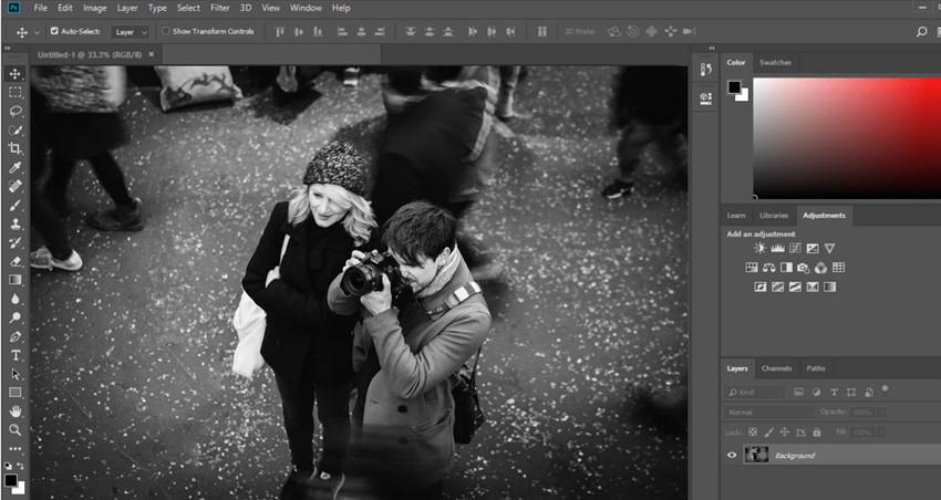 BLur Frame Photo Editor - Adobe Photoshop